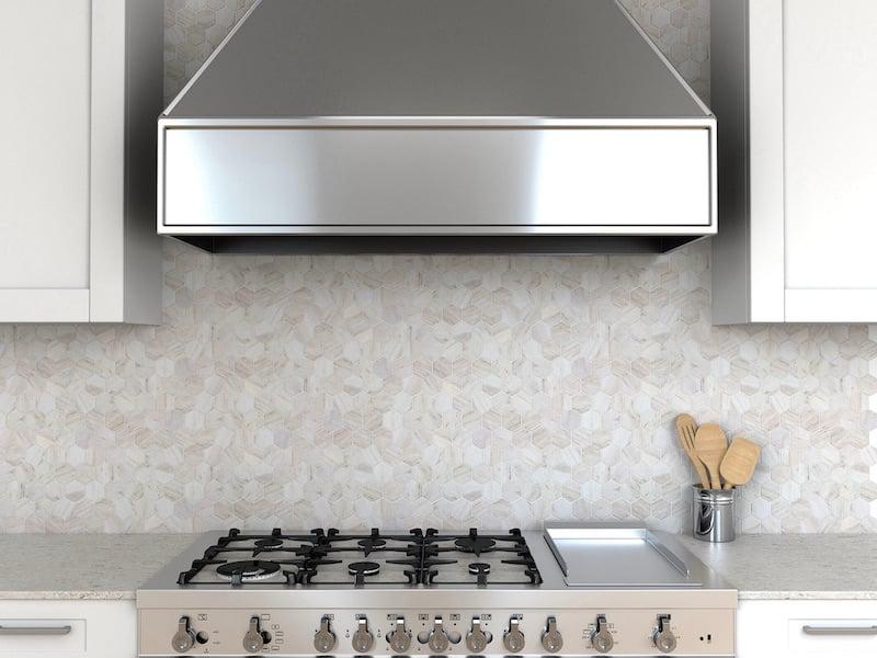 Architessa Geometric Shape Kitchen Tile Backsplash