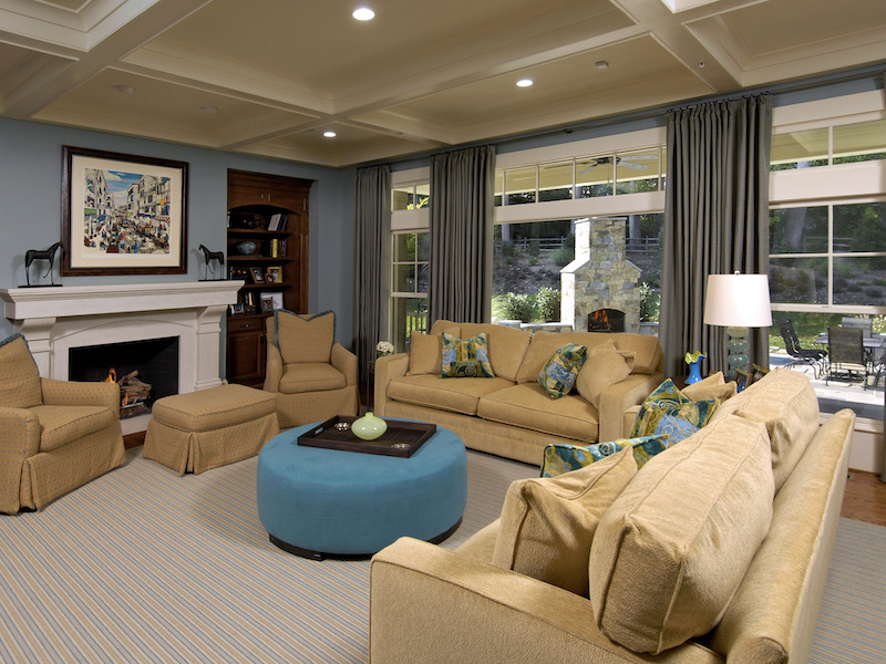 Arts & Crafts Architecture & Home Design - Family Room