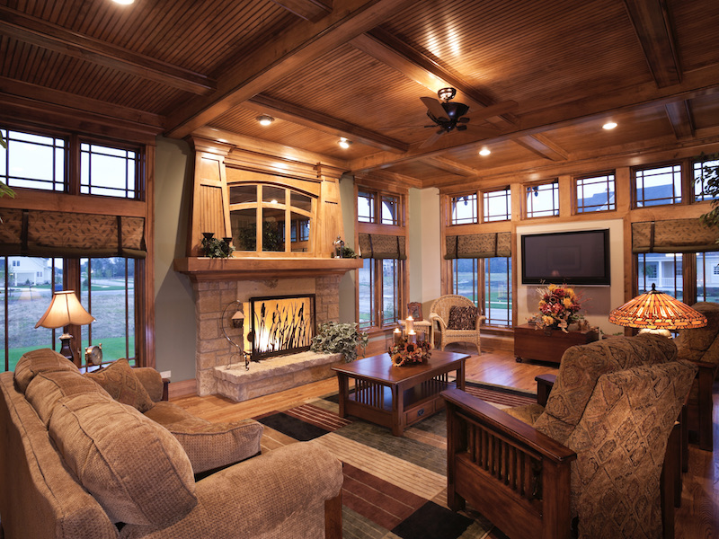 Arts & Crafts Architecture & Home Design - Prairie Style