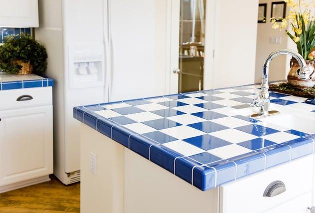 Countertop Materials Plastic : 14 Popular Kitchen Countertop Materials-Tile.jpg