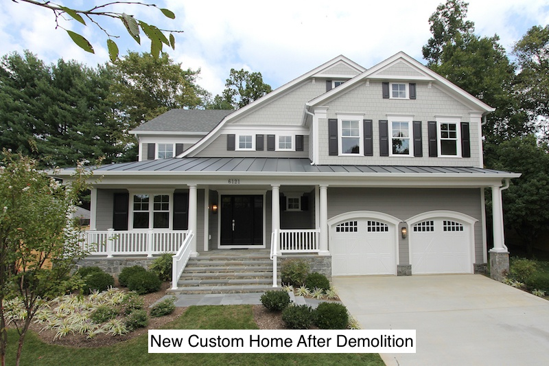 Residential Infill Building - New Custom Home After Demolition.jpeg