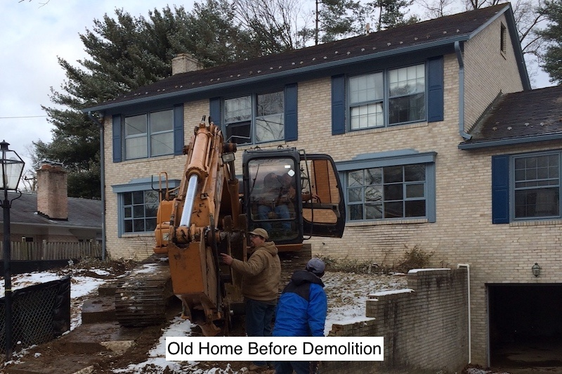 Residential Infill Building - Old Home Before Demoliton.jpeg