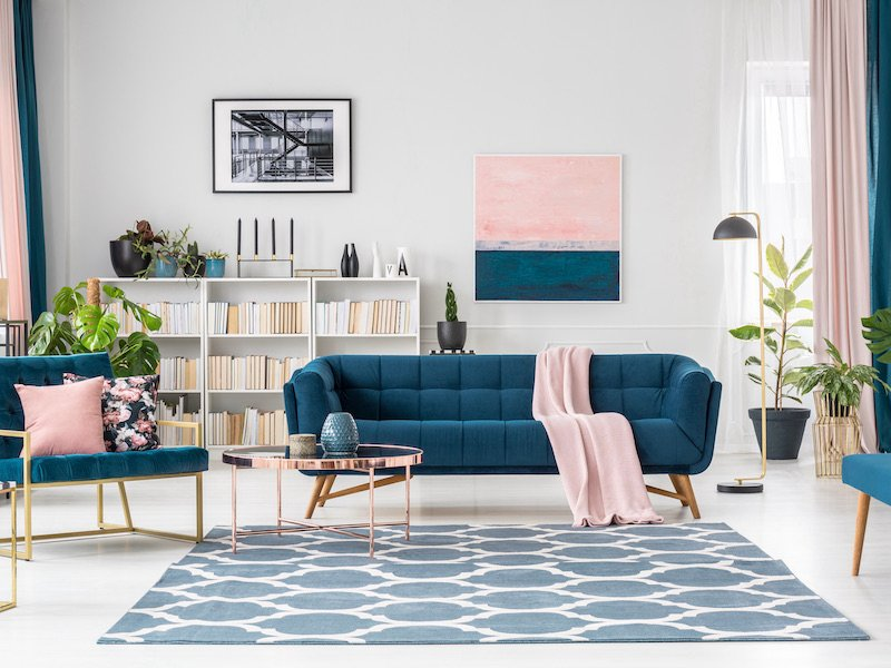 How Room Color Can Influence Your Mood - Blue and Pink
