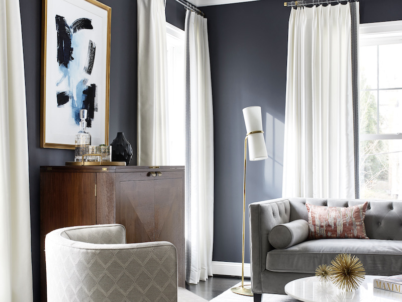 How Room Color Can Influence Your Mood - Gray Living Room