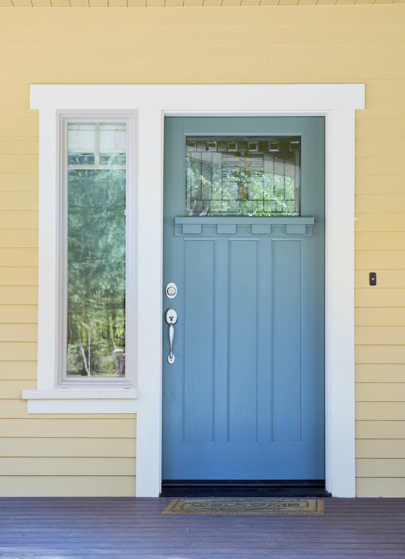 How To Choose A Front Door - Glass Panel