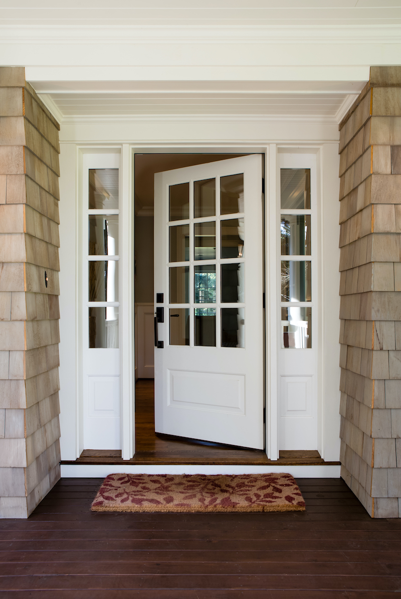 How To Choose A Front Door - Painted White