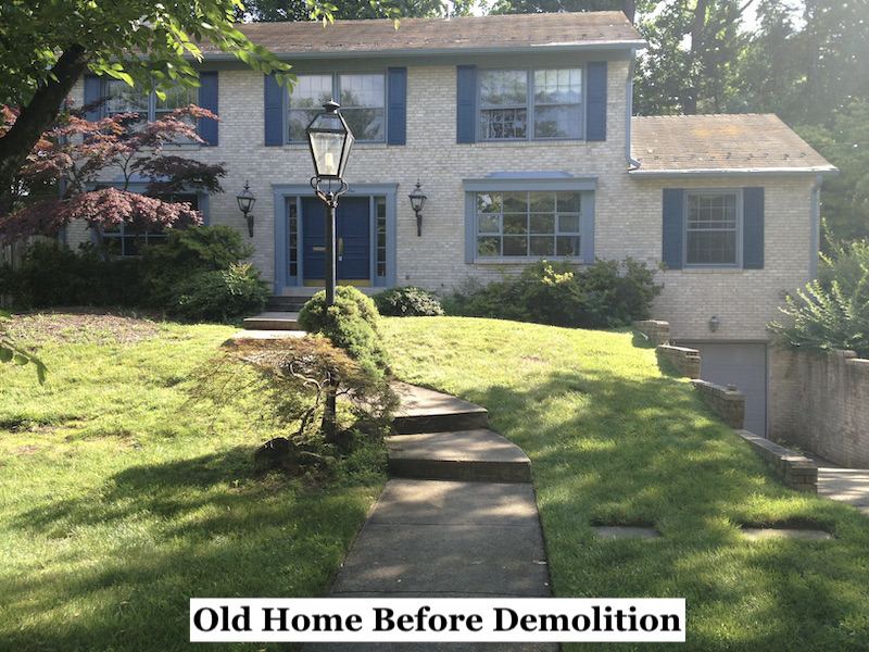 Infill Home Building - Before
