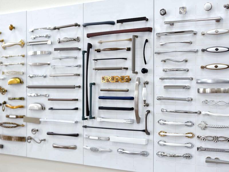 Kitchen Cabinet Hardware - Materials