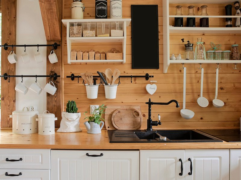Kitchen Cabinet Hardware - Style - Rustic