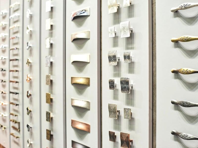 Kitchen Cabinet Hardware - Types
