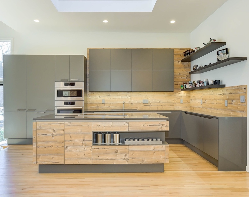 Meridian Homes - Contemporary Kitchen-Storage