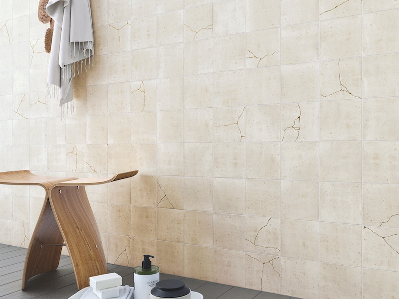 The Newest Trends In Bathroom Tile Design - Distressed