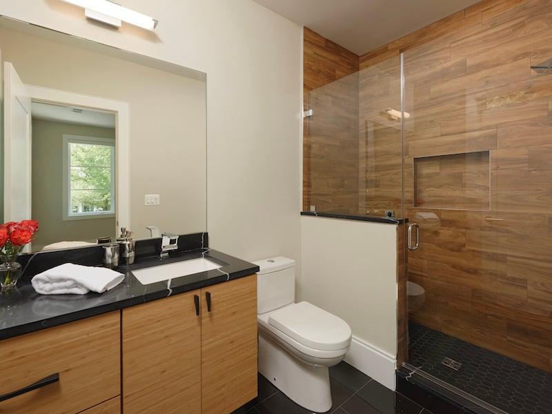 The Newest Trends In Bathroom Tile Design - Wood-Look