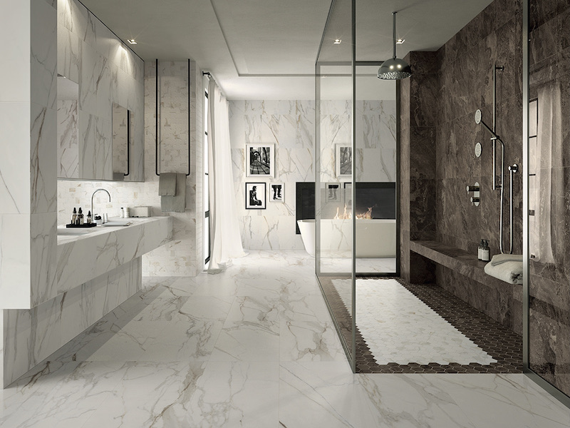The Newest Trends In Bathroom Tile Design