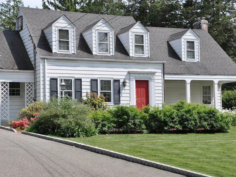 Traditional Home Architecture and Design - Cape Cod Style