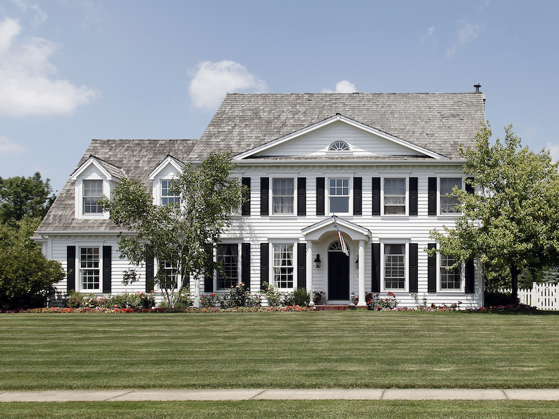 Traditional Home Architecture and Design - Georgian Colonial