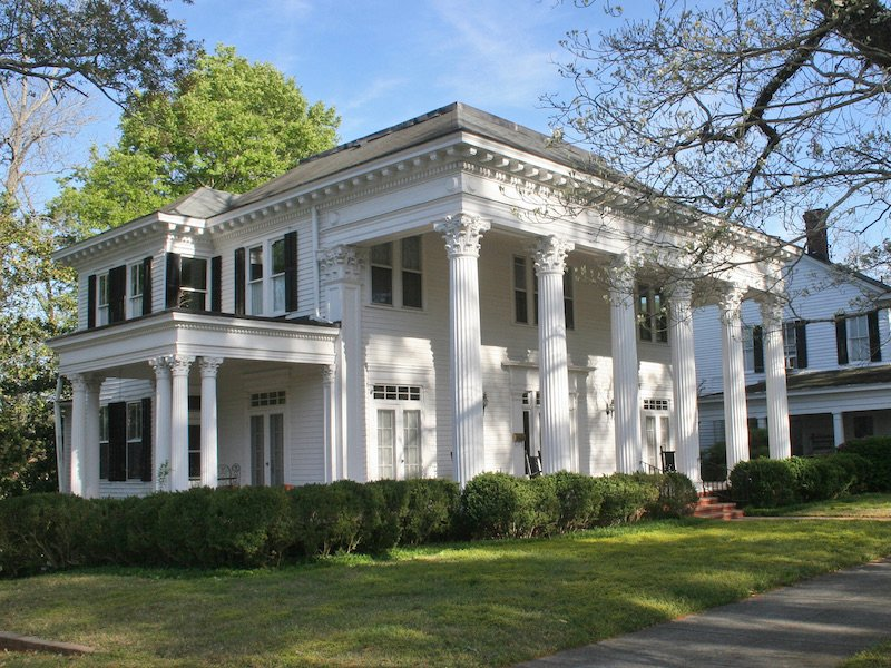 Traditional Home Architecture and Design - Greek Revival