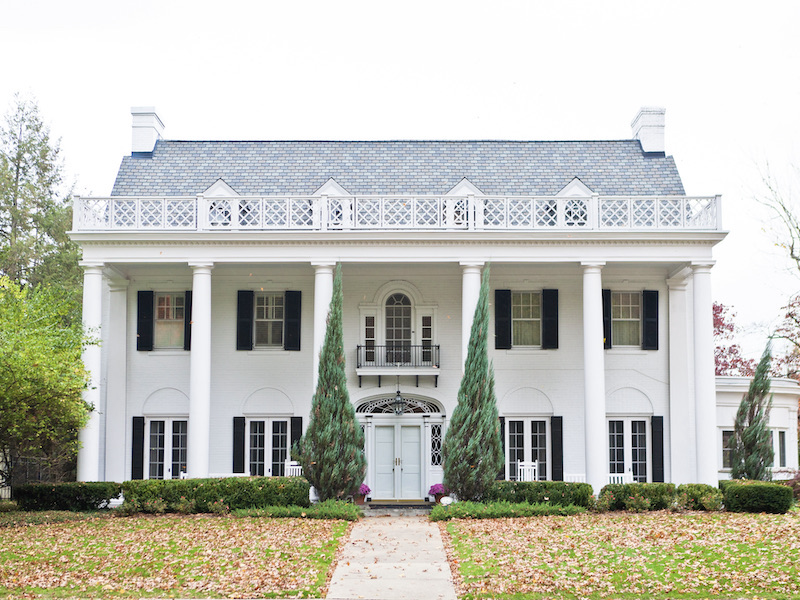 Traditional Home Architecture and Design - Neoclassical Style