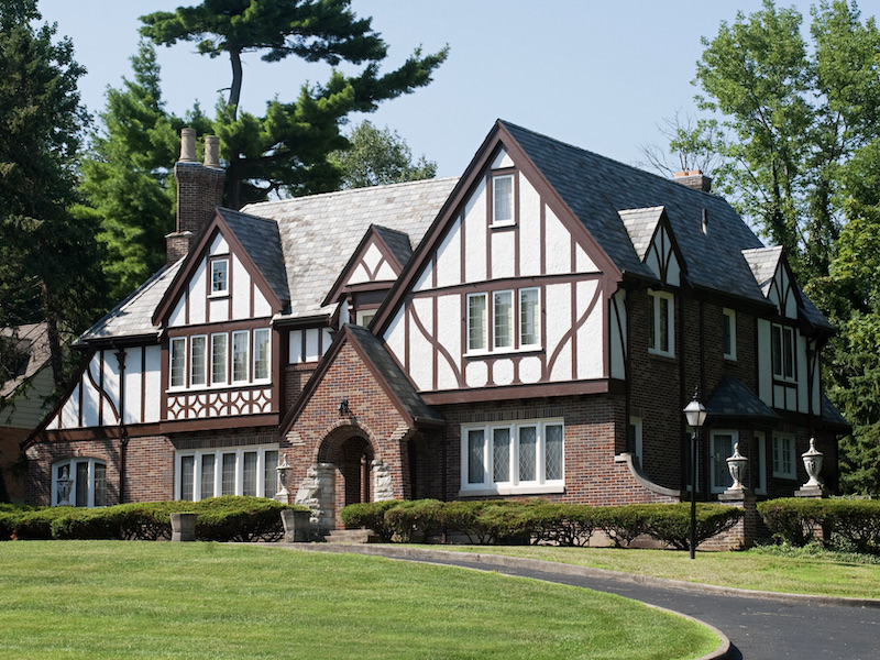 Traditional Home Architecture and Design - Tudor Style