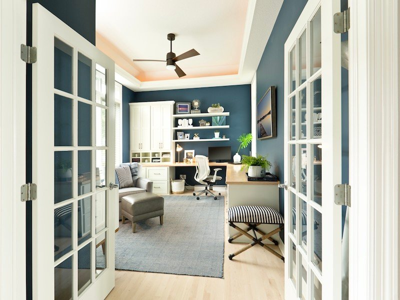 10 Home Office Design Ideas To Increase Productivity