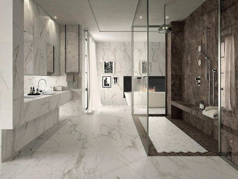 10 New Trends In Bathroom Tile Design